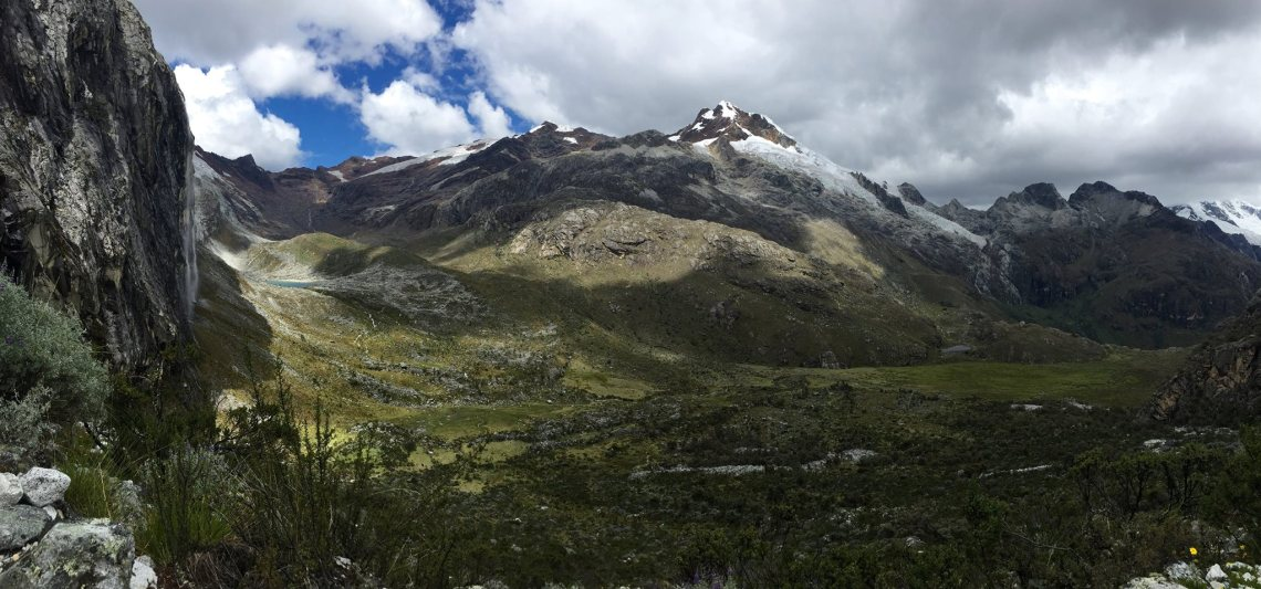 Mountain views Huascaran National Park Huaraz Ancash Peru