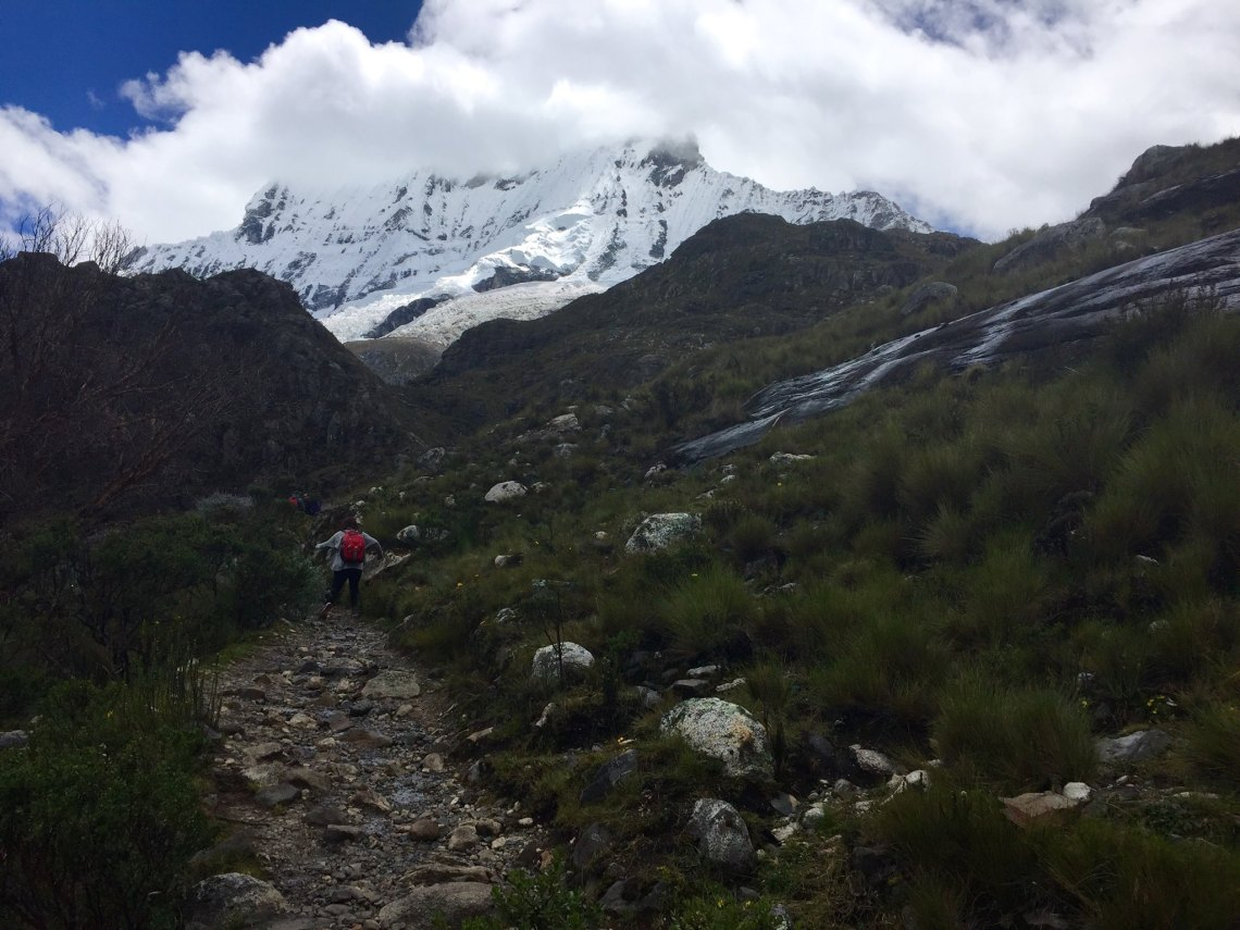 rocky path through Huascaran National Park Peace Corps Peru