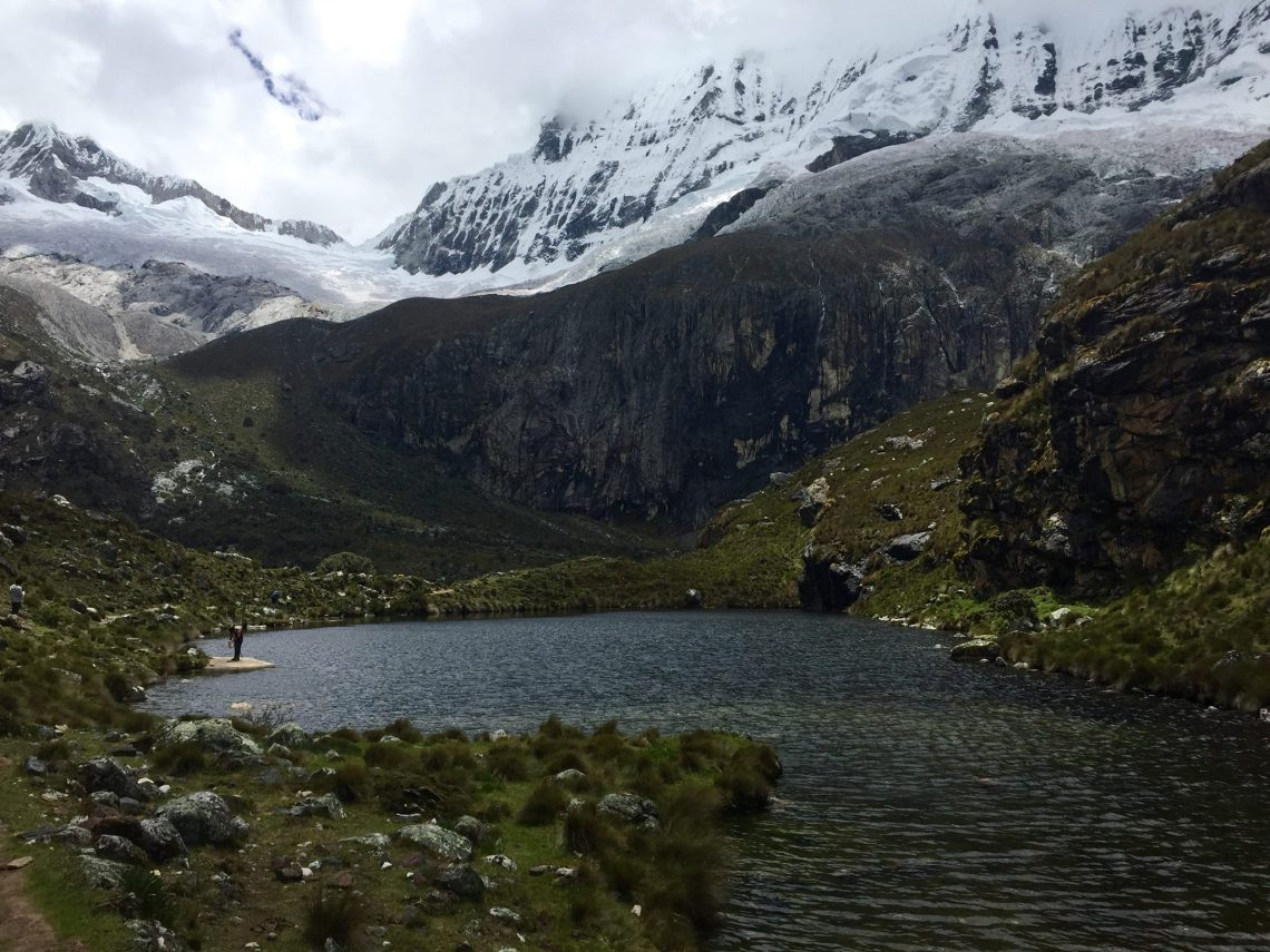 black lake Huascaran National Park Huaraz Ancash Peru