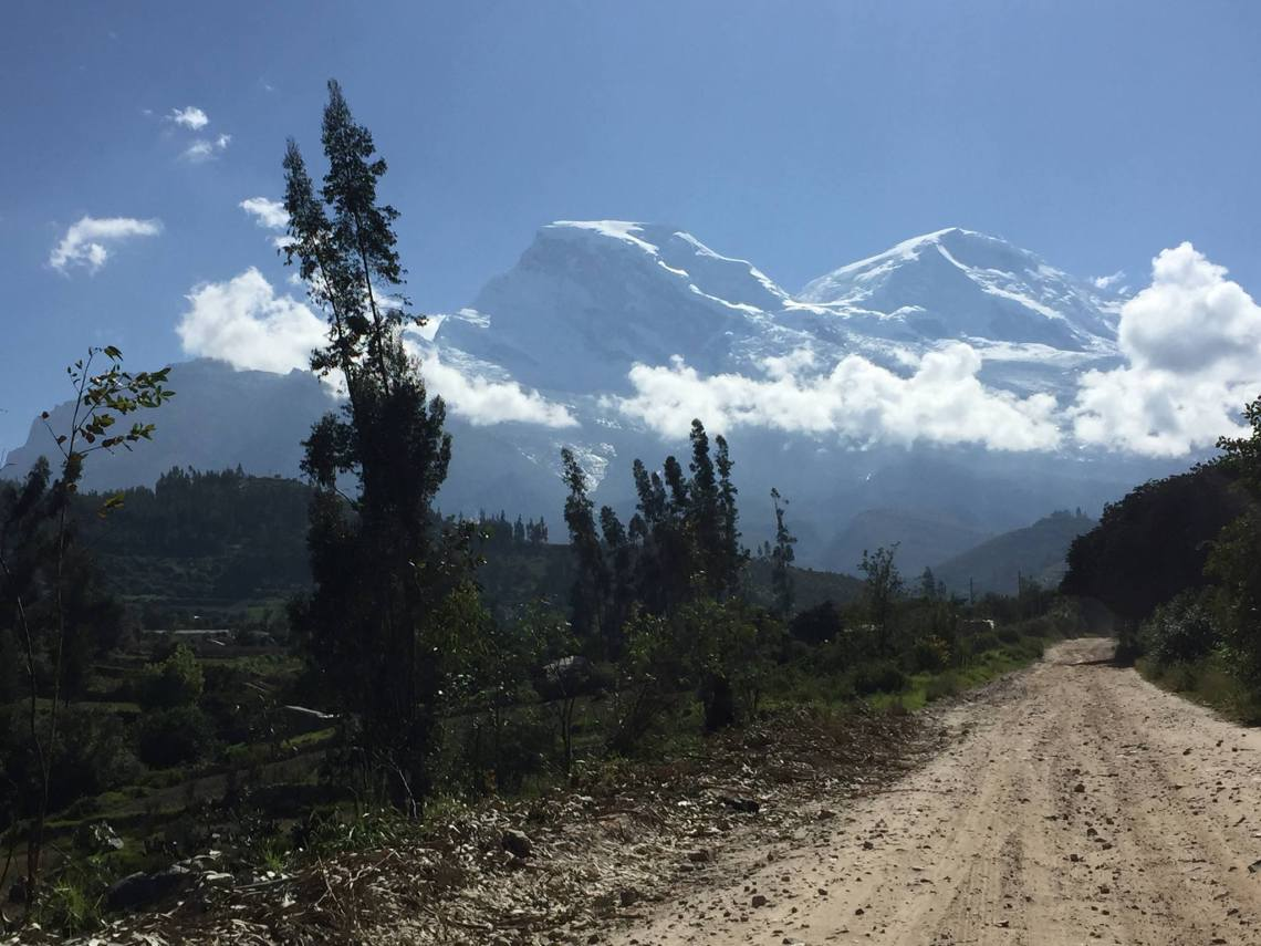 hike to laguna 69 Huascaran National Park Ancash Peru