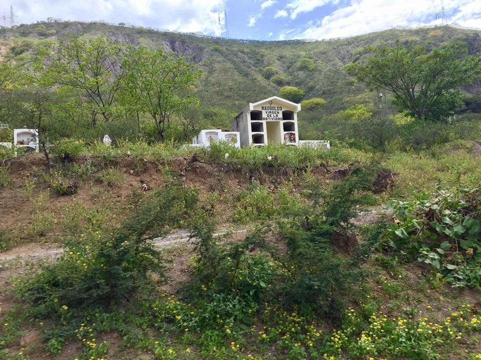 small cemetery Andes Mountains Peru Peace Corps