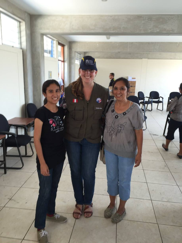 Peace Corps Peru Volunteer Fiscalia Trujillo