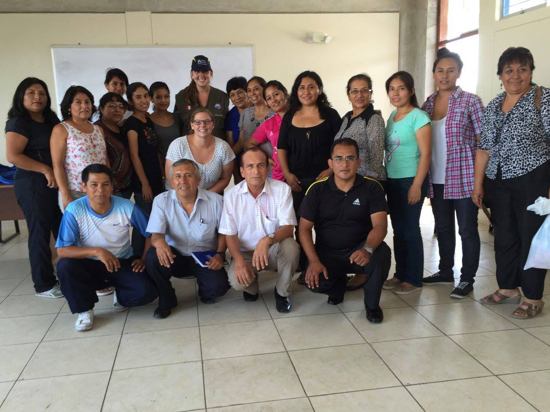 Peace Corps Peru Volunteer teacher training LinkedIn