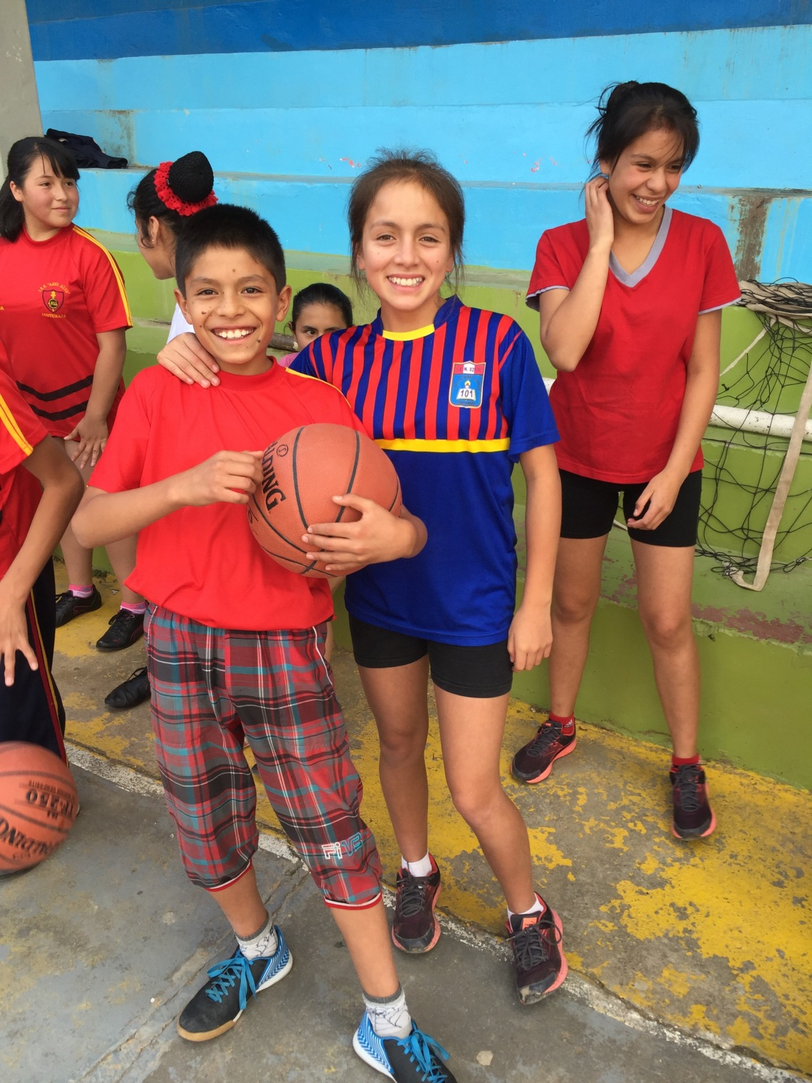 Playing Basketball to break Gender Norms in Peace Corps Peru