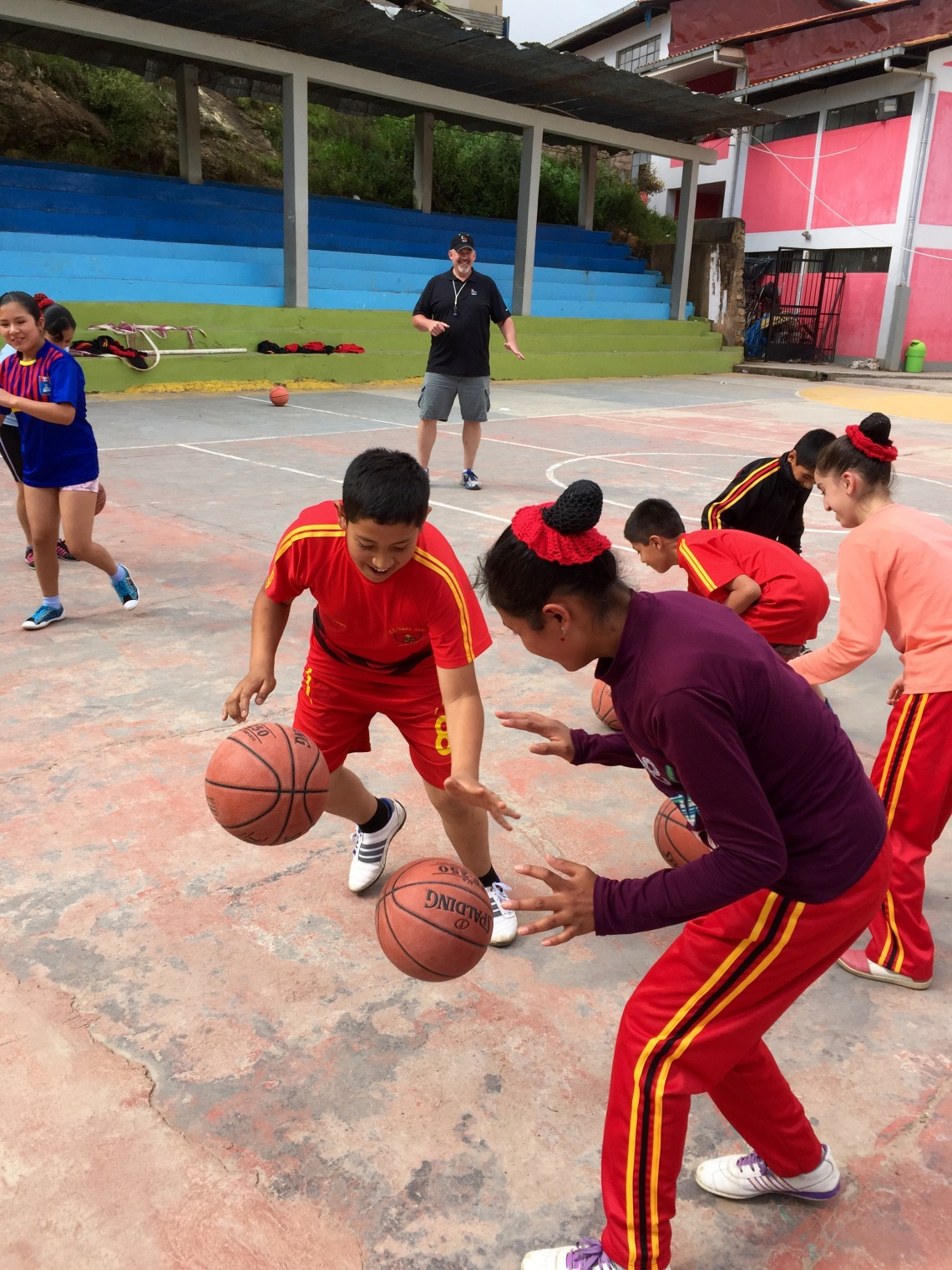 basketball camp Peru 20