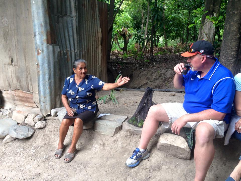 Sitting in the campo drinking Coke Peace Corps Peru