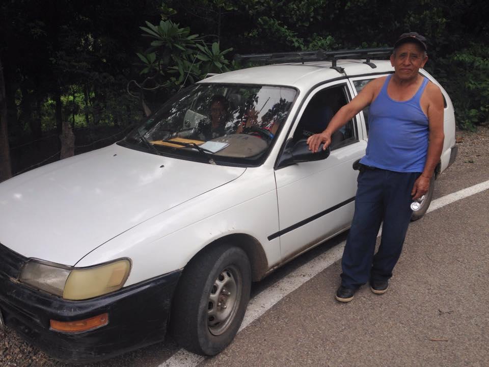 Typical collectivo in Cajamarca Peru public transportation Peace Corps