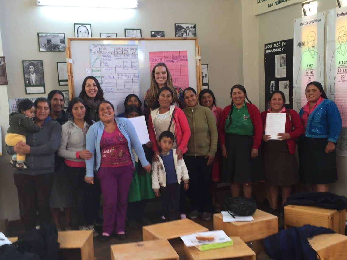 Peace Corps Peru IGA Womens Empowerment Workshop