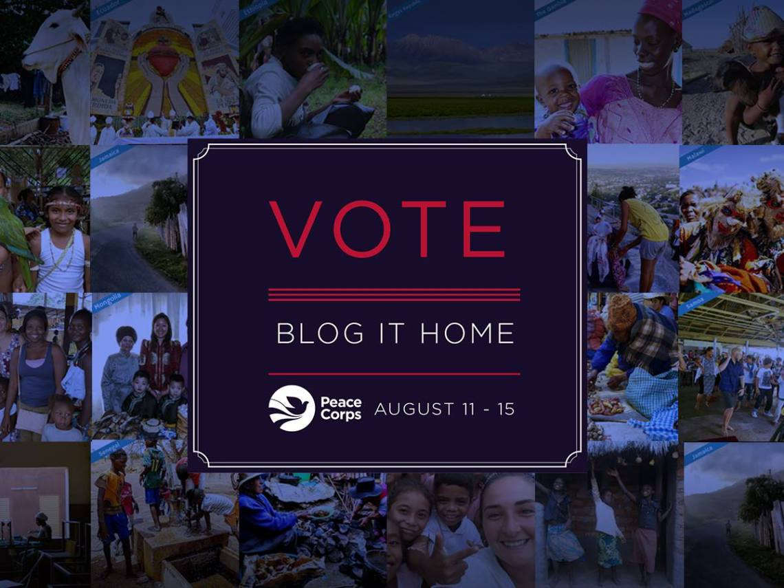 Blog It Home Peace Corps Finalist Contest 2016