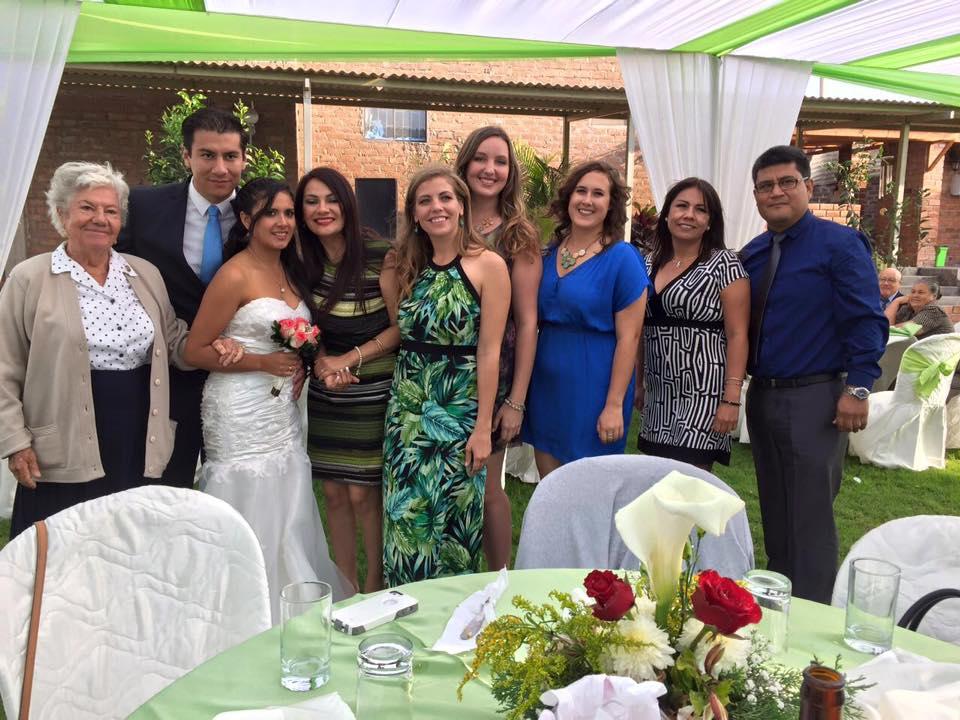 Peruvian- Mexican wedding Peace Corps Peru