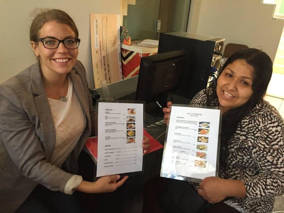 English for Tourism Class Peace Corps Peru Volunteer
