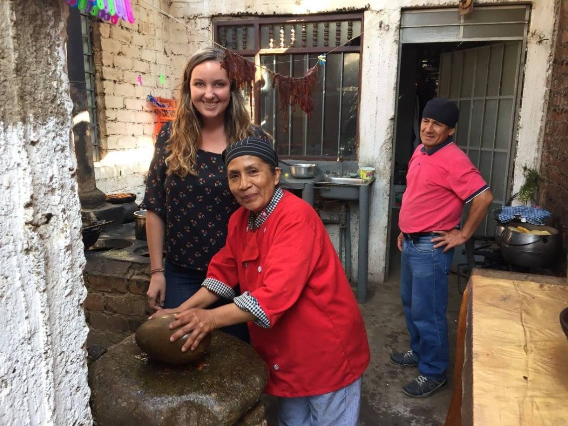 Making Aji with the Batan Moche Peru