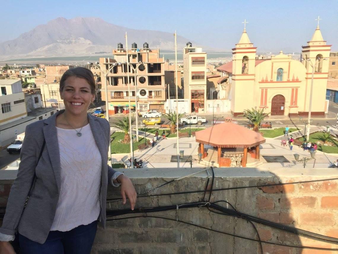 Moche Peru Plaza de Armas Peace Corps Volunteer Site