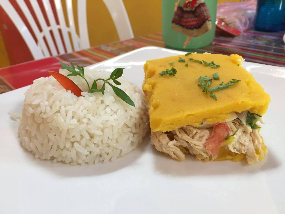 Peruvian causa rellena peace corps food moche