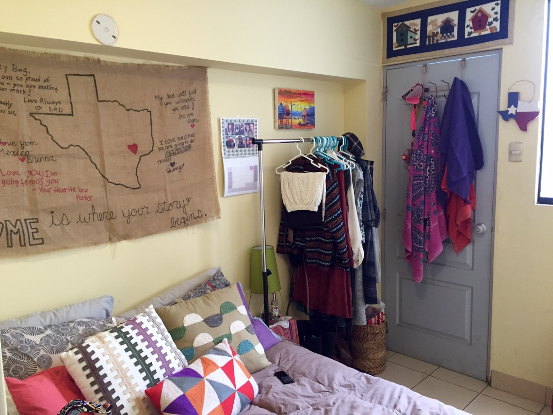 Peace Corps Peru Volunteer Room DIY Decor Cribs