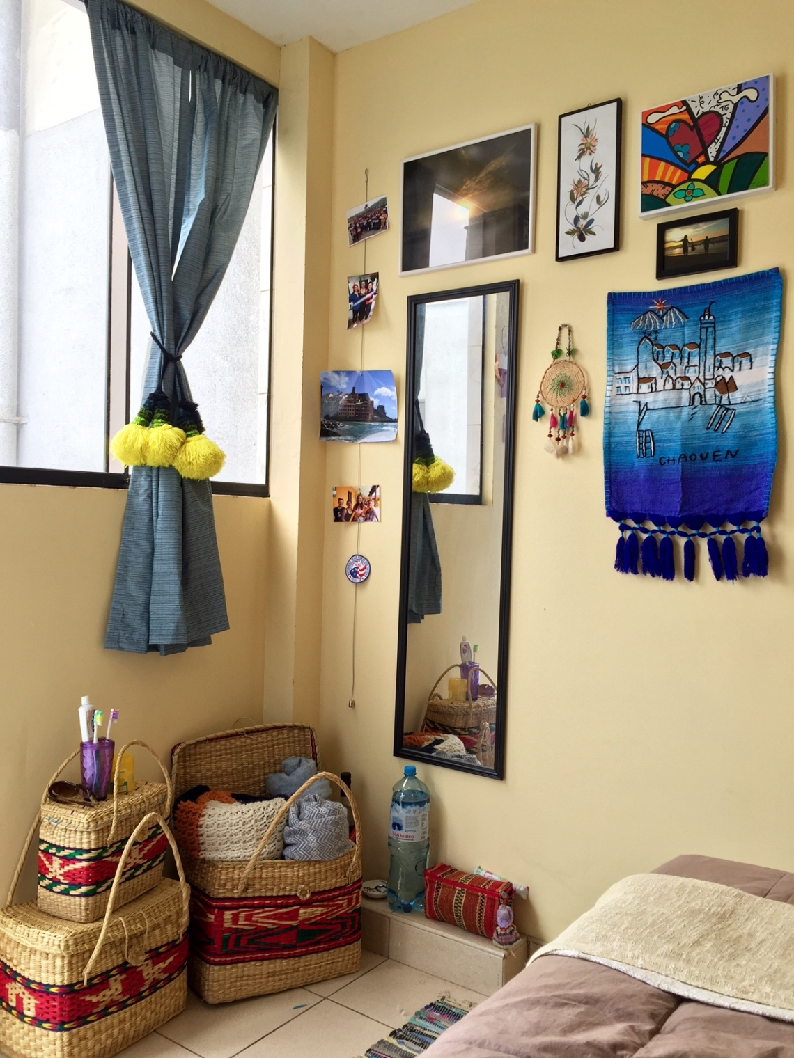 Peace Corps Peru Volunteer Room DIY Decor Cribs 2