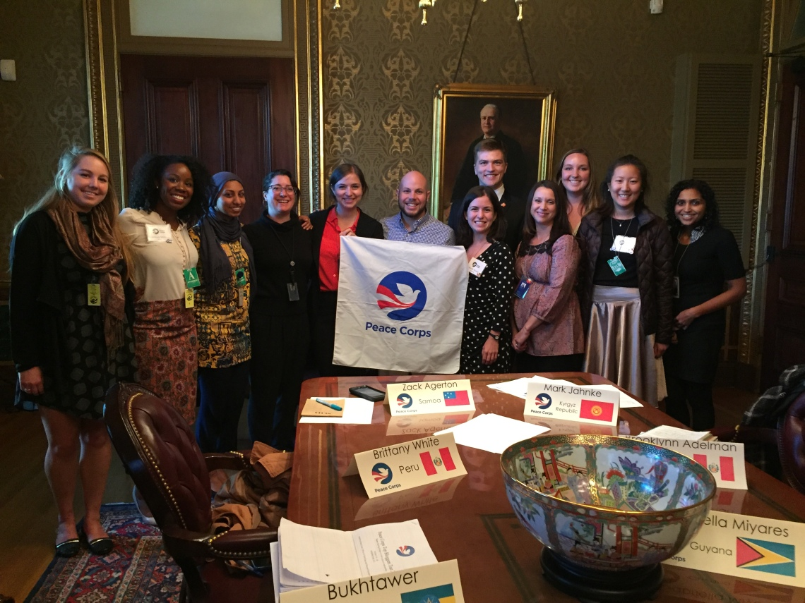 Meeting with White House Digital Strategy Staff Peace Corps Blog It Home