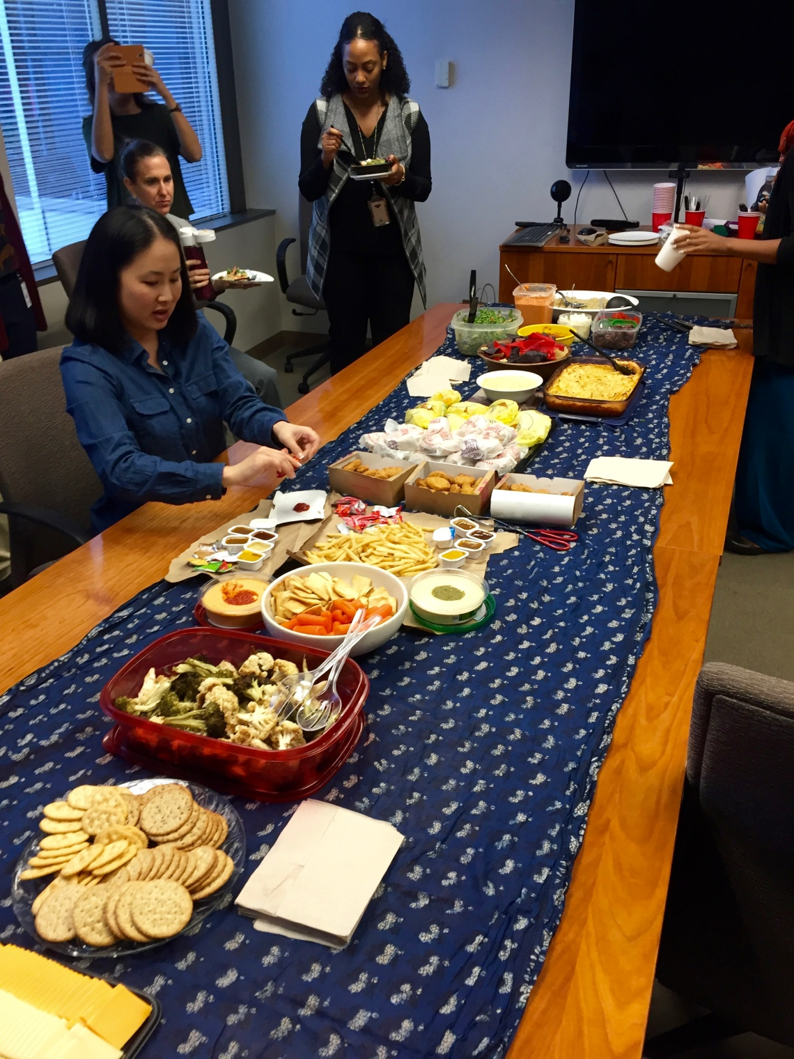 Peace Corps Third Goal Potluck for Blog It Home Winners